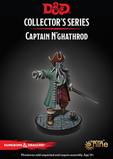 DND DUNGEON O/T MAD MAGE - CAPTAIN N'GHATHROD