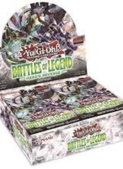 Yugioh: Battle of Legends Hero's Revenge Booster Box