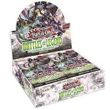 Yugioh: Battle of Legends Hero's Revenge Booster Box