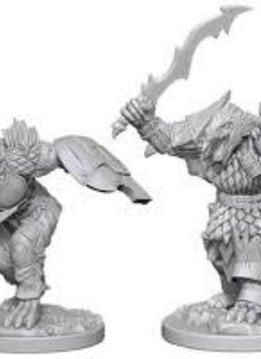 D&D Unpainted Minis: Dragonborn Male Fighter