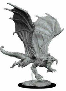 D&D Unpainted Minis: Young Black Dragon