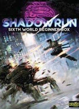 Shadowrun 6th Beginner Box