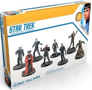 STAR TREK ADV. ORIGINAL SERIES ICONIC VILLAINS