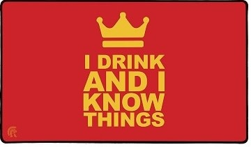 LEGION PLAYMAT I DRINK