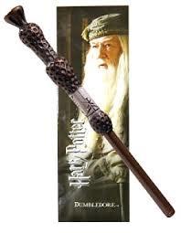 Dumbledore Wand Pen & Bookmark