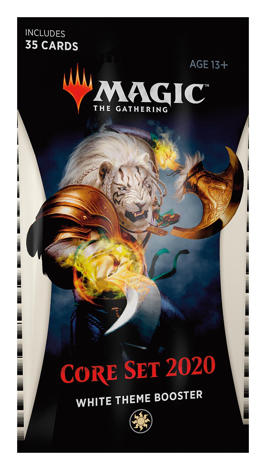 Core 2020 Theme Booster -White