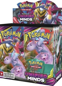 Pokemon Unified Minds Booster box (Disponible le 2 Aout)