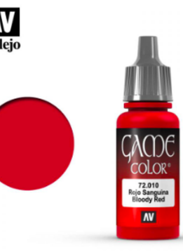 Vallejo Bloody Red 17ml