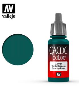 Vallejo Scurvy Green 17ml