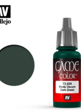 Vallejo Dark Green 17ml