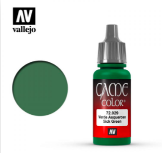 Vallejo Sick Green 17ml