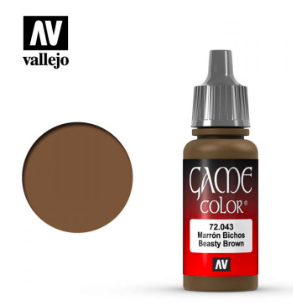 Vallejo Beasty Brown 17ml