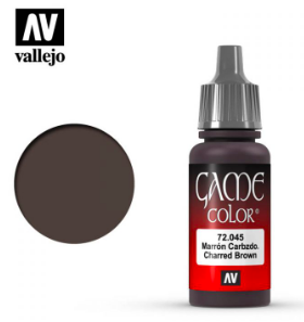 Vallejo Charred Brown 17ml