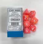 CHX 30005 Lab Dice- Festive Dahlia