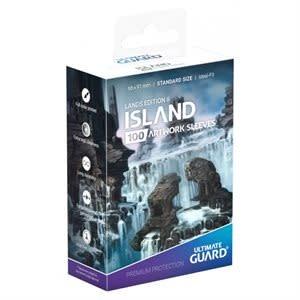 Lands Edition II: Island Sleeves