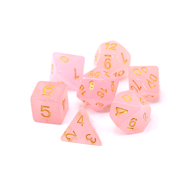 POLY RPG SET - PINK GLIMMER