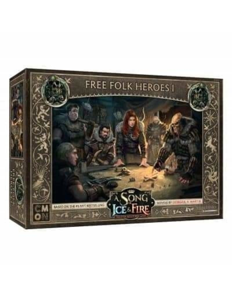 A Song OF Ice And Fire Free Folk Heroes Box 1