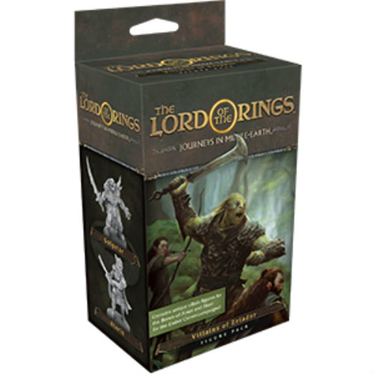 Lord of the Ring Journey Into Middle Earth Vilains of Eriador Figure Pack (Disponible le 2 Aout)