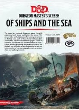 D&D Of Ships & Seas DM Screen