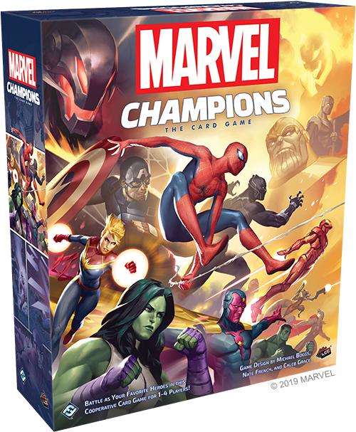 Marvel Champions: The Card Game Core Set (Octobre 2019)