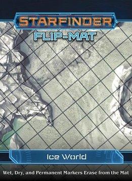 STARFINDER FLIP-MAT ICE WORLD