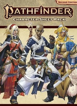 PATHFINDER 2E CHARACTER SHEET PACK