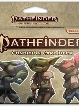 PATHFINDER 2E CONDITION CARD DECK