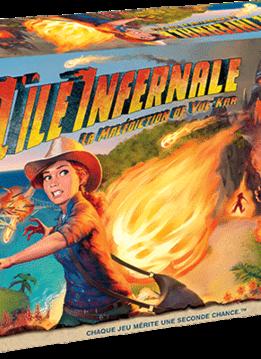 L'île infernale (Fireball Island) (FR)