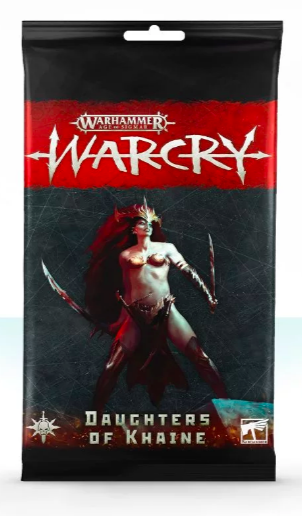Warcry Card Pack : Daughters of Khaine Eng