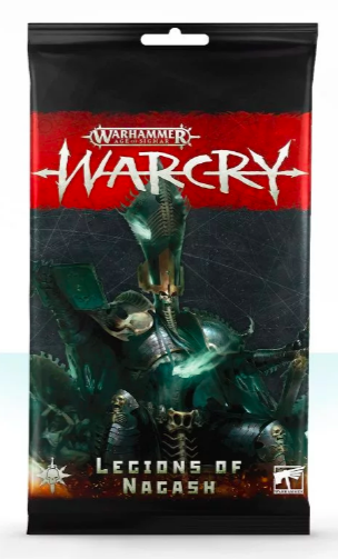 Warcry Card Pack : Legions of Nagash (FR)