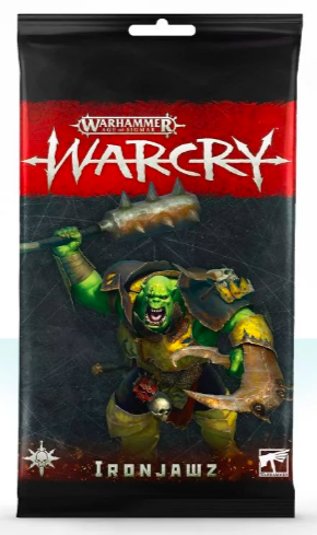 Warcry Card Pack : Ironjawz (FR)