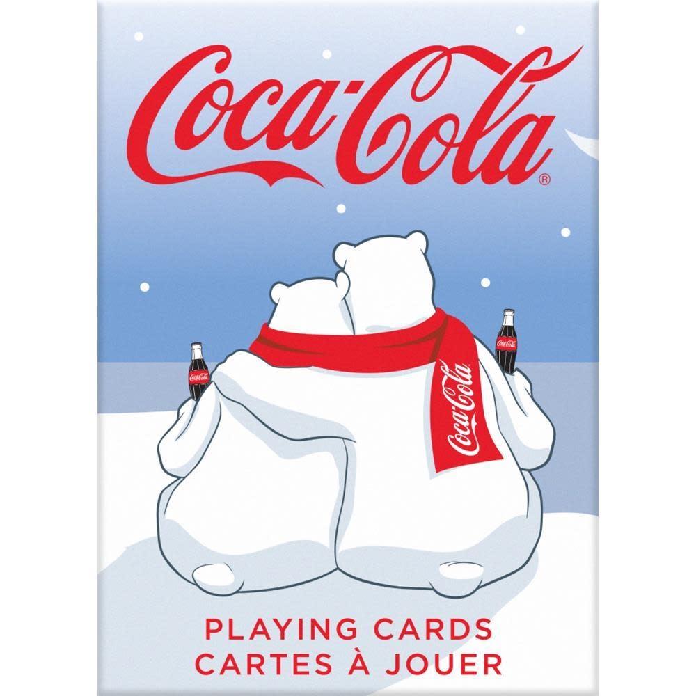 Bicycle Coca-cola polar bears cards