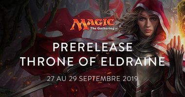 PRE-RELEASE MAGIC Throne of Eldraine