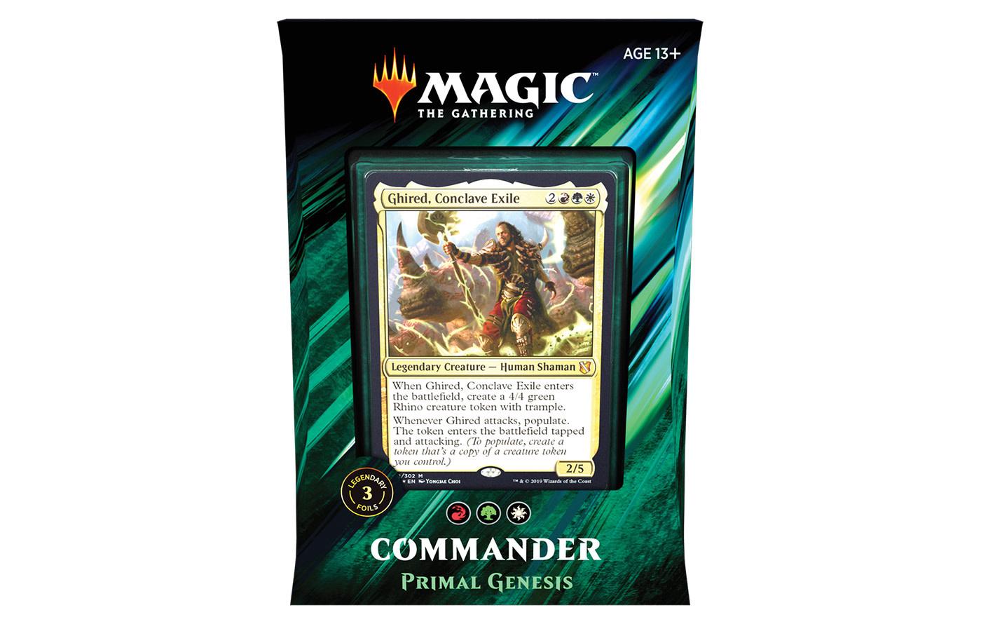 Commander Deck 2019: Populate (Primal Genesis)