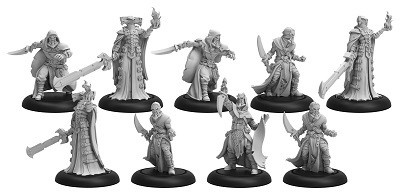 INFERNAL CULTIST BAND/DARK SENTINELS UNIT & WEAPON