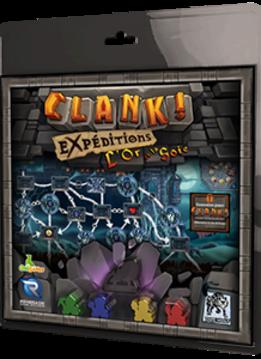 Clank! Expéditions - L'Or et la Soie