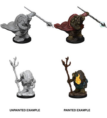 D&D UNPAINTED MINIS WV9 TORTLES ADVENTURERS