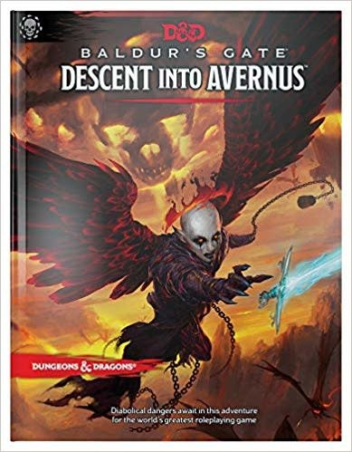 Dungeons & Dragons Baldur's Gate: Descent Into Avernus Hardcover Book (D&D Adventure) (17 septembre 2019)