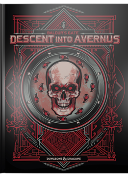 Dungeons & Dragons: Baldur's Gate Descent Into Avernus (Alternate Cover)(HC)(BOOK) 17 sept 2019