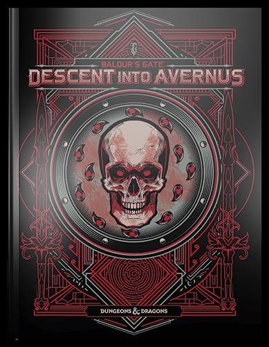 Dungeons & Dragons: Baldur's Gate Descent Into Avernus (Alternate Cover)(HC)(BOOK)