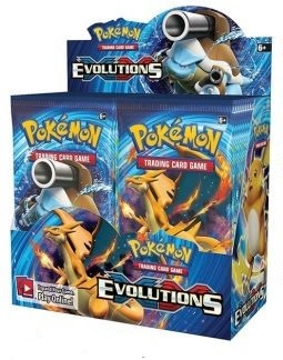 Pokemon XY12 Evolutions Booster Box