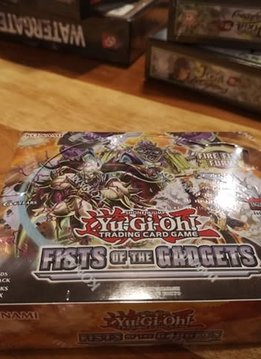 Fists of the Gadgets YGO Booster Box (Sortie 22 aout)