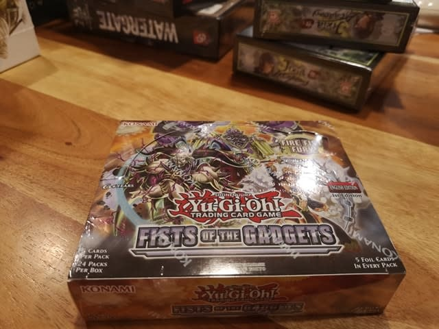 Fists of the Gadgets YGO Booster Box