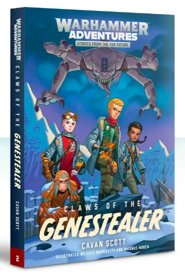 Book 2: Warped Galaxies -Claws of the Genestealer