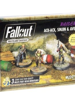 Fallout: Wasteland Warfare - Raiders Ack-Ack, Sinjin & Avery