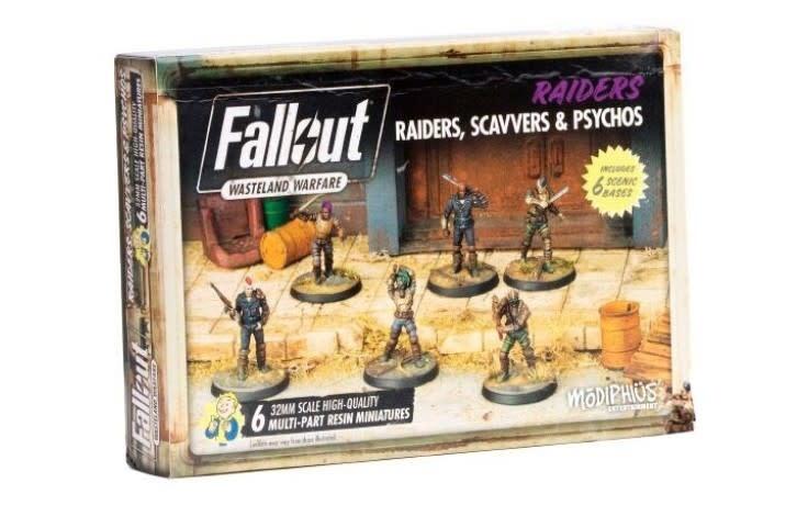 Fallout: Wasteland Warfare - Raiders, Scavvers and Psychos