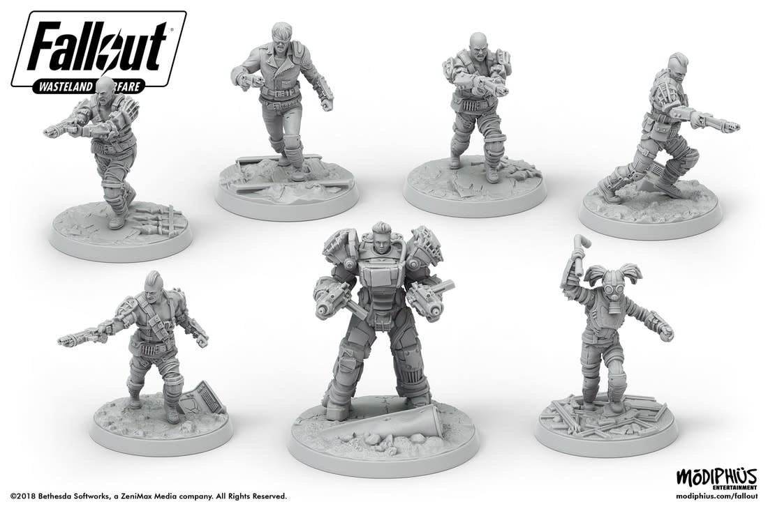 Fallout: Wasteland Warfare - Raiders Core Box