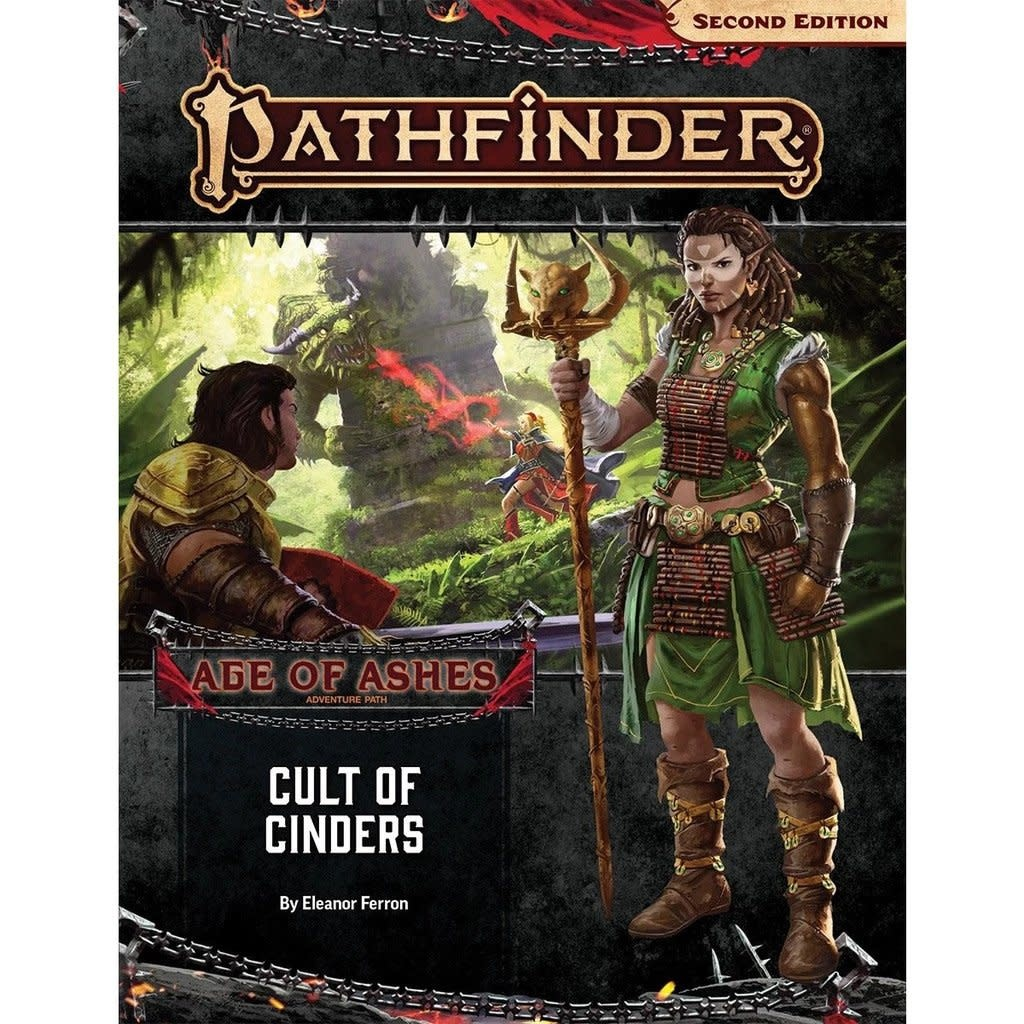Pathfinder 2e - Cult of Cinders (Age of Ashes 2 of 6)