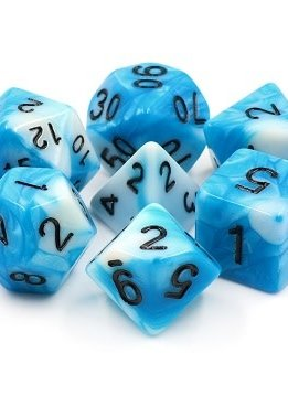 TMG Freya's Frost 16mm 7pcs RPG Dice Set