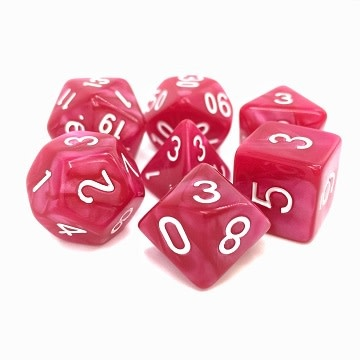 TMG Coral Grief 16mm 7pcs RPG Dice Set
